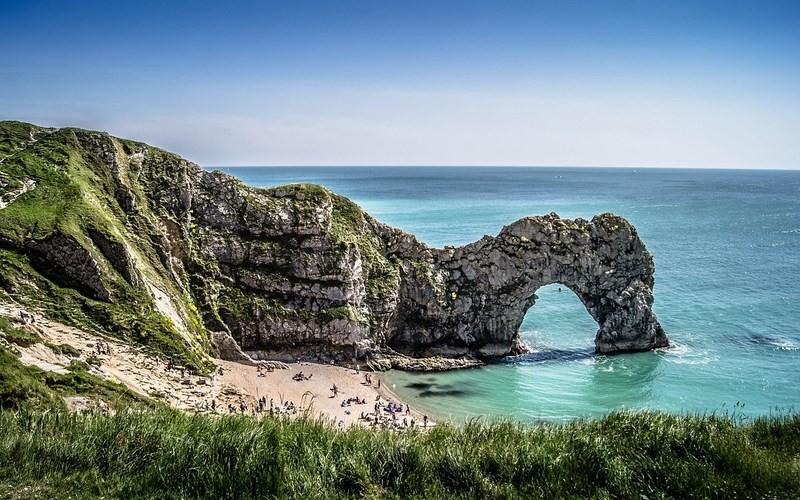 Фото: Юрское побережье - Достопримечательности Англии - ТОП-15
