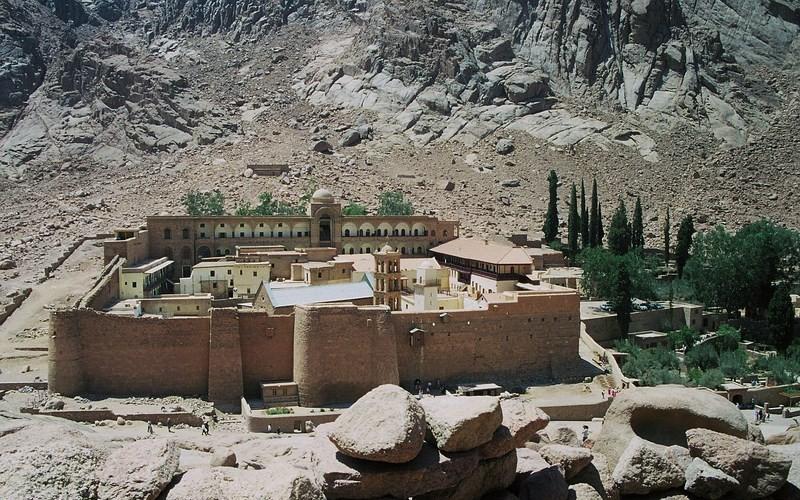 Фото: Монастырь Святой Екатерины - Достопримечательности Египта: ТОП-15