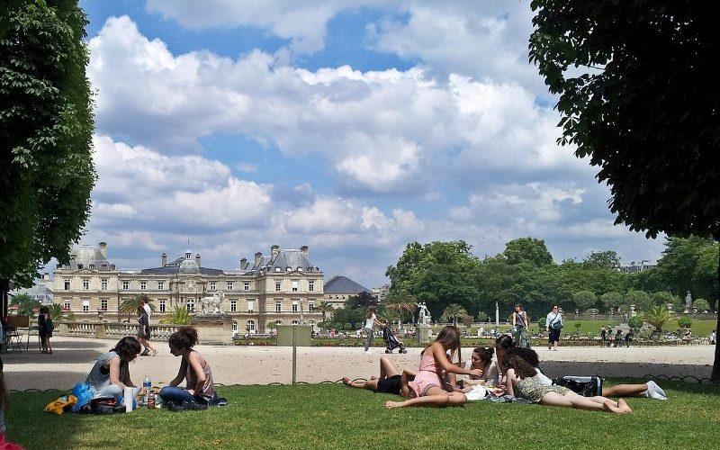 Фото: Люксембургский парк, Париж