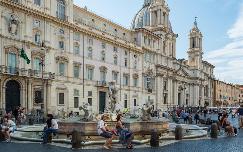 Фото: Пьяцца Навона - Достопримечательности Рима: ТОП-15