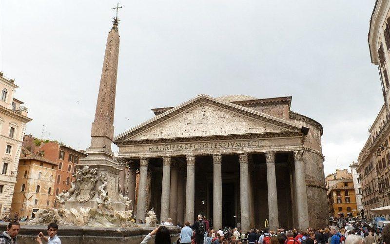 Фото: Пантеон - Достопримечательности Рима: ТОП-15