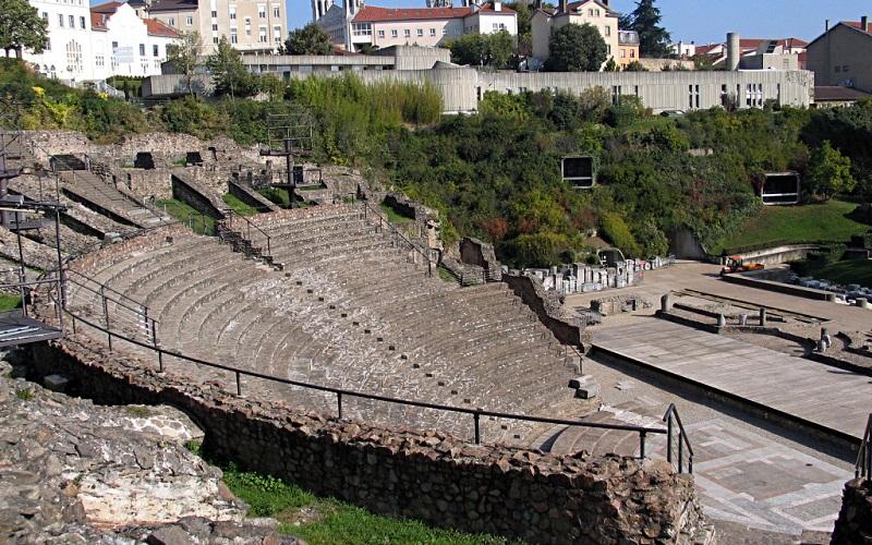 Фото: Античный театр - Достопримечательности Лиона