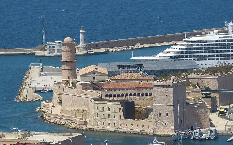 Фото: Форт Святого Иоанна - Достопримечательности Марселя: ТОП-13