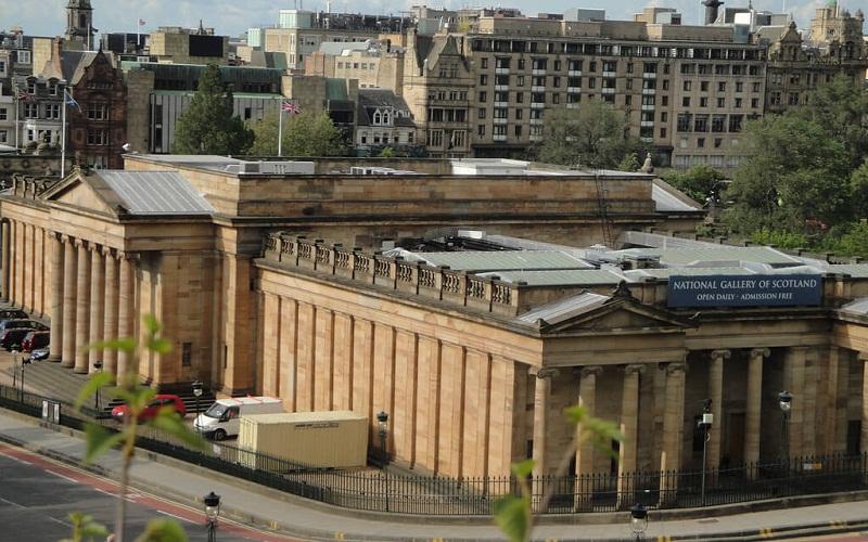 Фото: Национальная галерея Шотландии: Достопримечательности Эдинбурга: ТОП-10