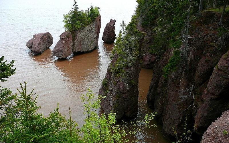 Фото: Залив Фанди - Достопримечательности Канады: ТОП-14