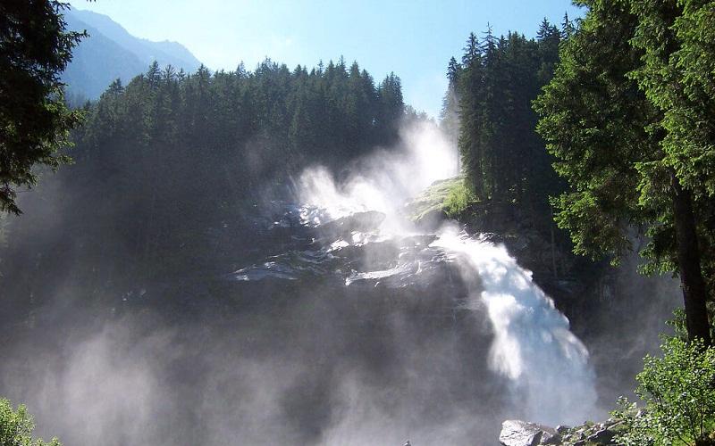 Фото: Водопады Кримль - достопримечательности Австрии: ТОП-13