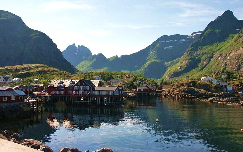 Фото: Лофотенские острова - Достопримечательности Норвегии: ТОП-10
