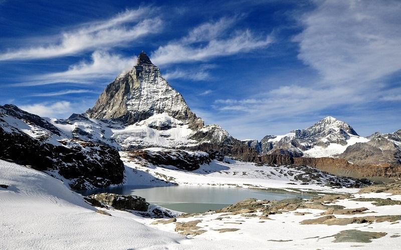 Фото: Пик Маттерхорн - Достопримечательности Швейцарии: ТОП-16