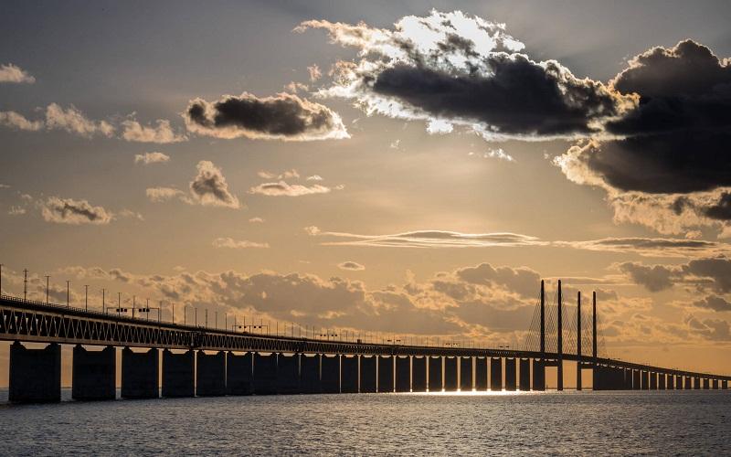 Фото: Эресуннский мост - Достопримечательности Швеции: ТОП-12