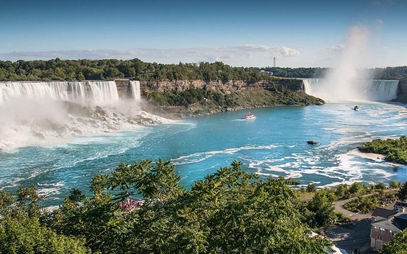 Фото: Ниагарский водопад - Достопримечательности Канады: ТОП-14