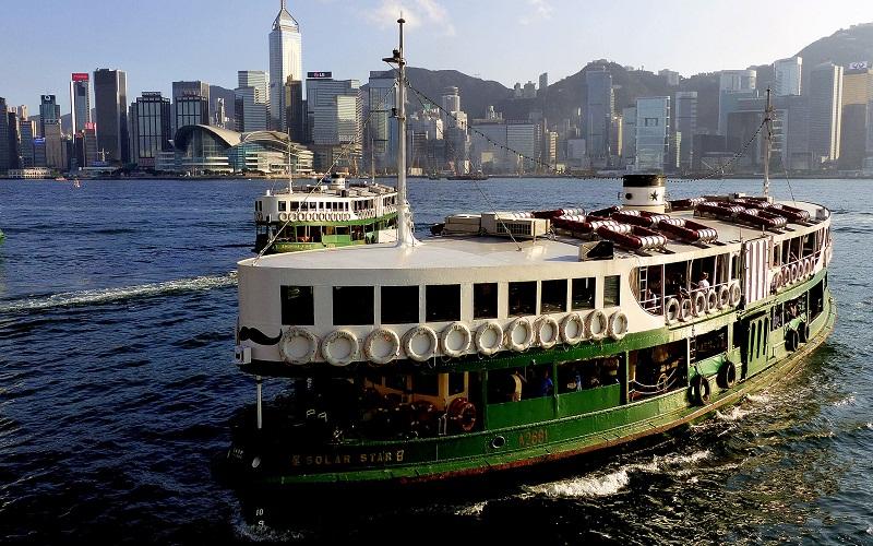 """Фото: Паром """"Star Ferry"""" - Достопримечательности Гонконга: ТОП-12"""