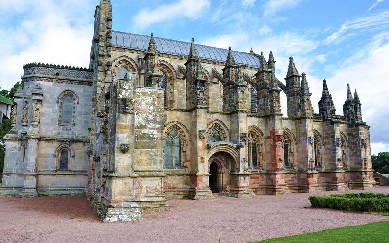 Фото: Рослинская капелла - Достопримечательности Шотландии: ТОП-10