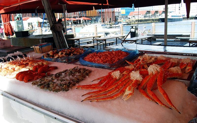 Фото: Рыбный базар - Достопримечательности Бергена: ТОП-10