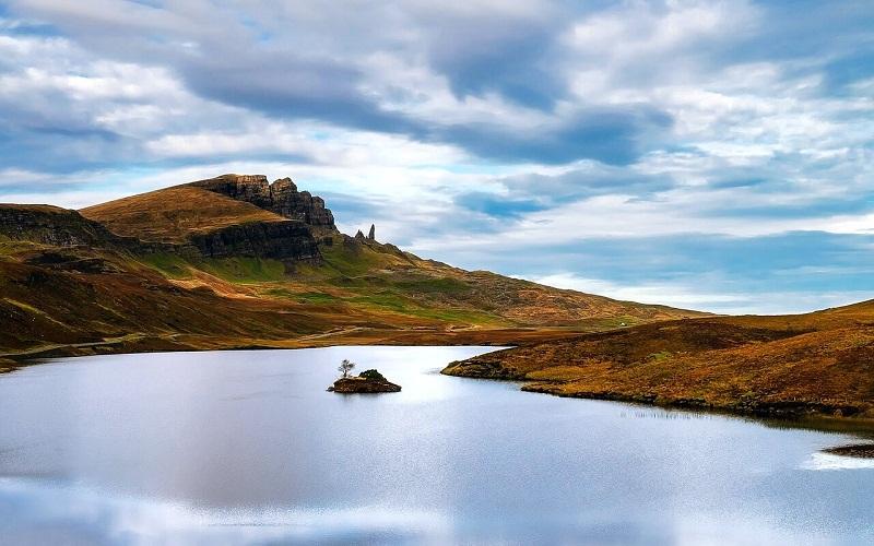 Фото: Гебридские острова и остров Скай - Достопримечательности Шотландии: ТОП-10