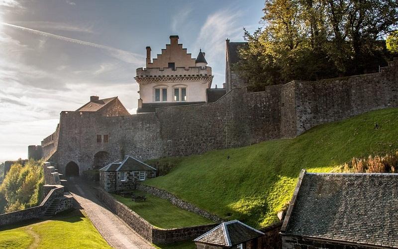 Фото: Замок Стерлинг - Достопримечательности Шотландии: ТОП-10
