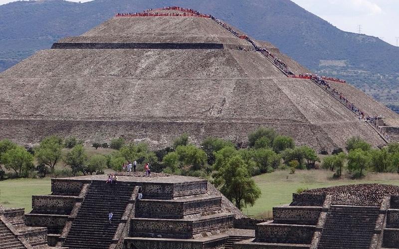 Фото: Теотиуакан - Достопримечательности Мексики - ТОП-13