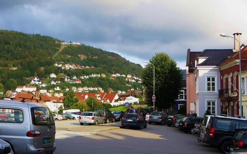 Фото: Гора Флёйен - Достопримечательности Бергена: ТОП-10