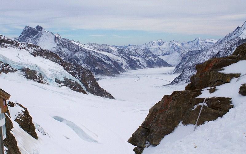 """Фото: Гора Юнгфрауйох (""""Вершина Европы"""") - Достопримечательности Швейцарии: ТОП-16"""