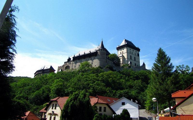 Фото: Замок Карлштейн - Достопримечательности Чехии: ТОП-12