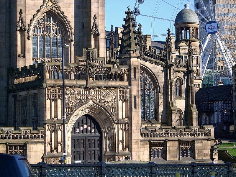 Фото: Манчестерский собор - Достопримечательности Манчестера: ТОП-10