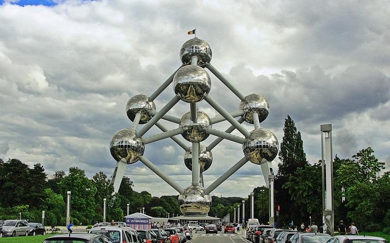 Фото: Атомиум - Достопримечательности Брюсселя: ТОП-10
