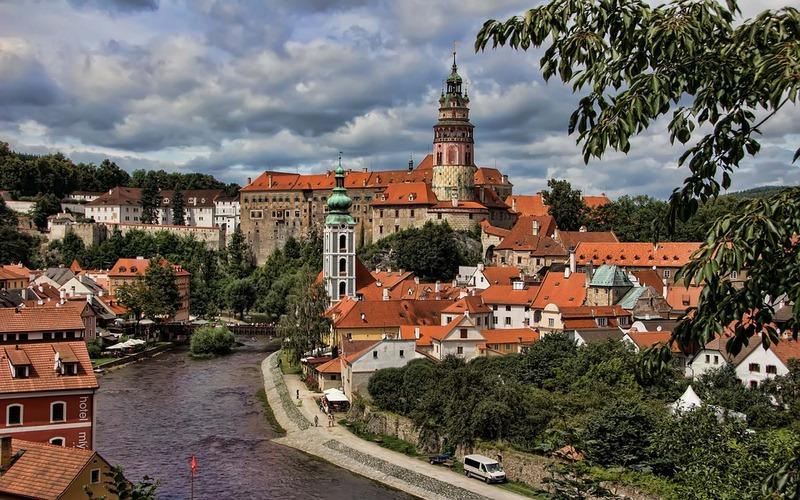 Фото: Чешский Крумлов - Достопримечательности Чехии: ТОП-12