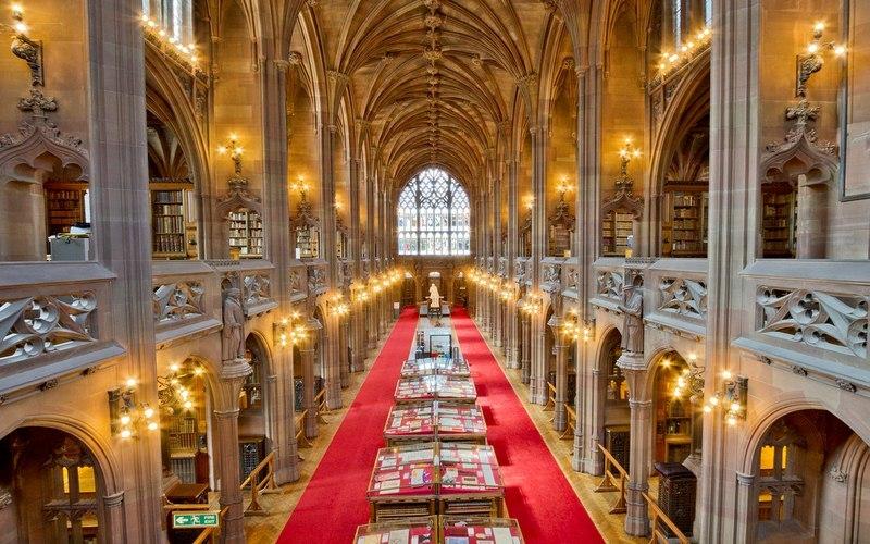 Фото: Библиотека Джона Райландса - Достопримечательности Манчестера: ТОП-10