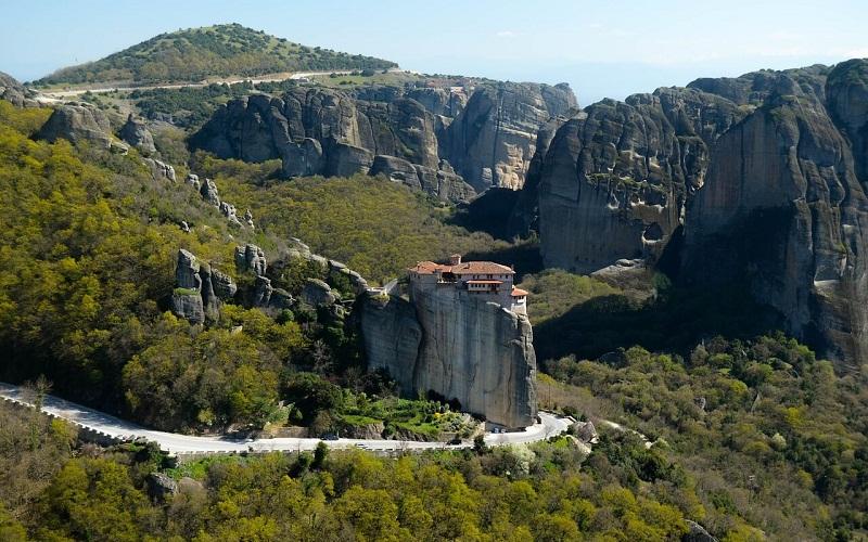 Фото: Метеоры - Достопримечательности Греции: ТОП-11