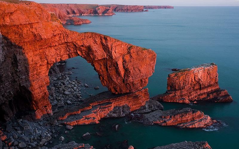 Фото: Национальный парк Пембрукшир Кост - Достопримечательности Уэльса: ТОП-10