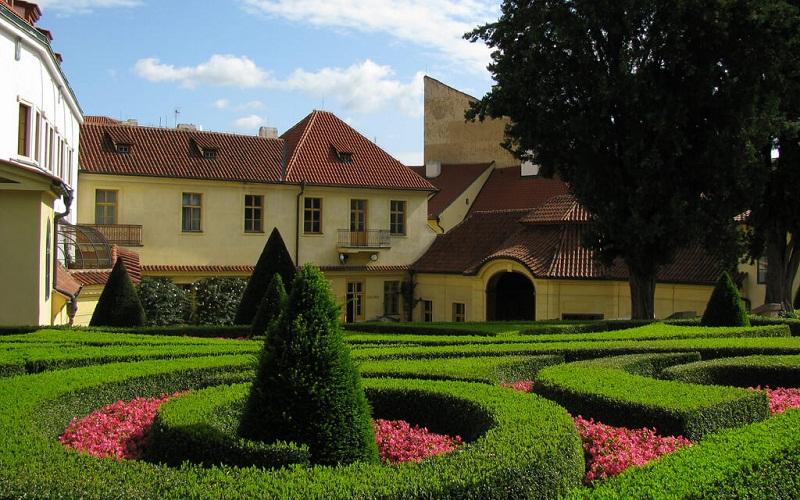 Фото: Вртбовский сад - Достопримечательности Праги: ТОП-10