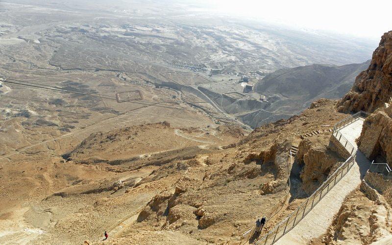 Фото: Крепость Масада - Достопримечательности Израиля: ТОП-14