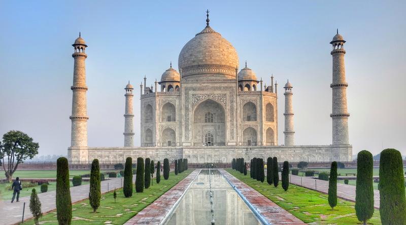 Фото: Тадж-Махал - Достопримечательности Индии: ТОП-10