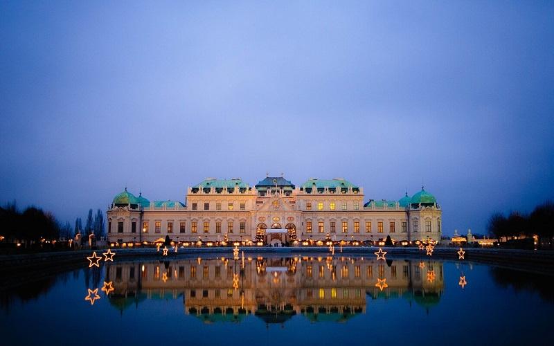 Фото: Дворцовый комплекс Бельведер - Достопримечательности Вены: ТОП-11