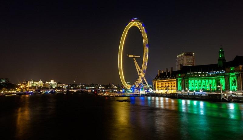 Фото: Лондонский глаз - Достопримечательности Лондона: ТОП-15