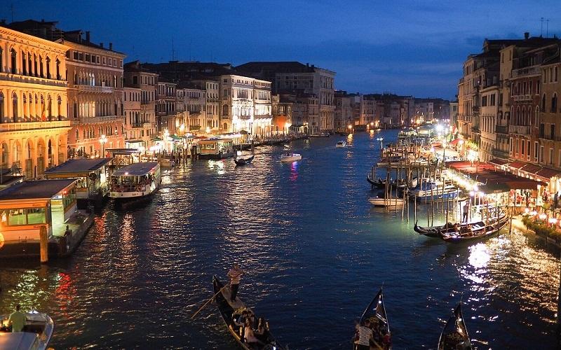 Фото: Гранд-канал - Достопримечательности Венеции: ТОП-10