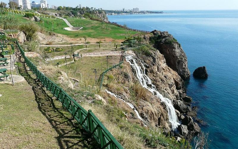 Фото: Дюденский водопад - Достопримечательности Анталии: ТОП-10