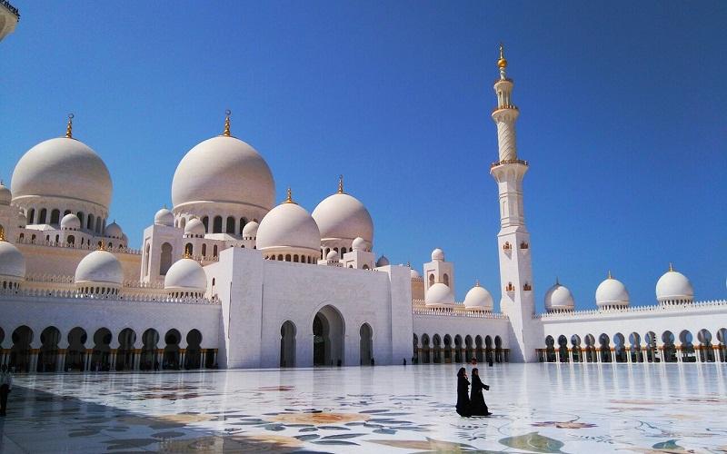 Фото: Мечеть шейха Зайда: Достопримечательности Абу-Даби: ТОП-10