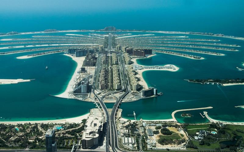 Фото: Пальма Джумейра - Достопримечательности Дубая: ТОП-14