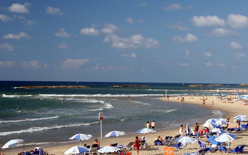 Фото: Пляжи Гордон и Фришман - Достопримечательности Тель-Авива : ТОП-10