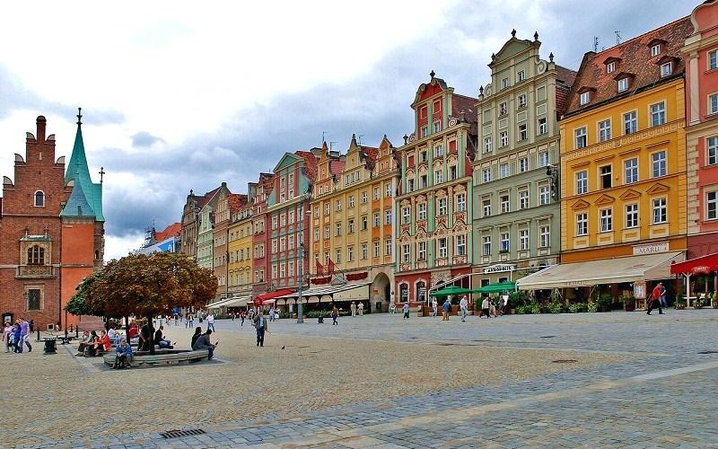Фото: Рыночная площадь - Достопримечательности Вроцлава: ТОП-10