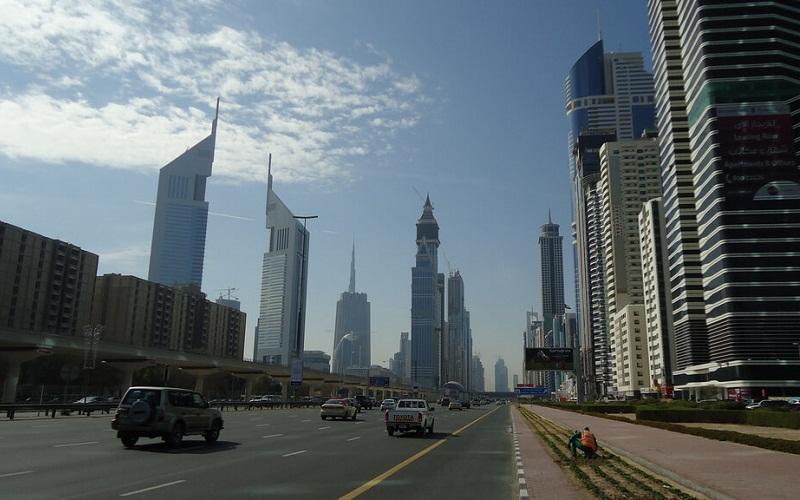 Фото: Улица Шейха Зайда - Достопримечательности Дубая: ТОП-14