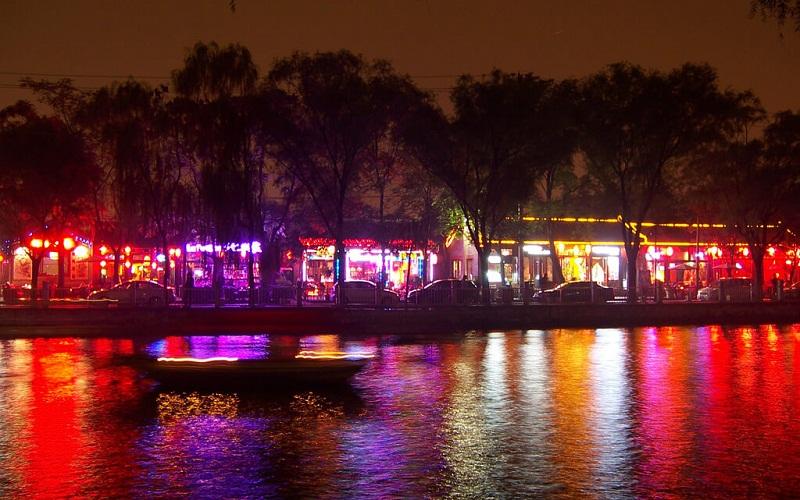Фото: Озеро Хоухай - Достопримечательности Пекина: ТОП-10