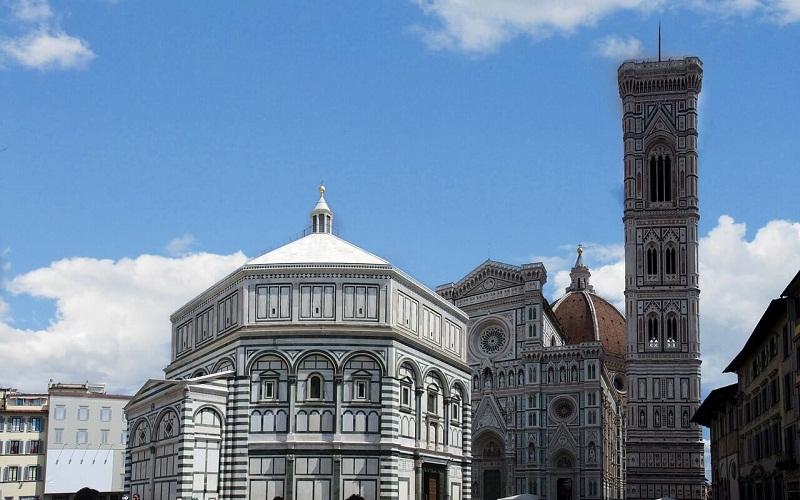 Фото: Кампанила Джотто - Достопримечательности Флоренции: ТОП-10