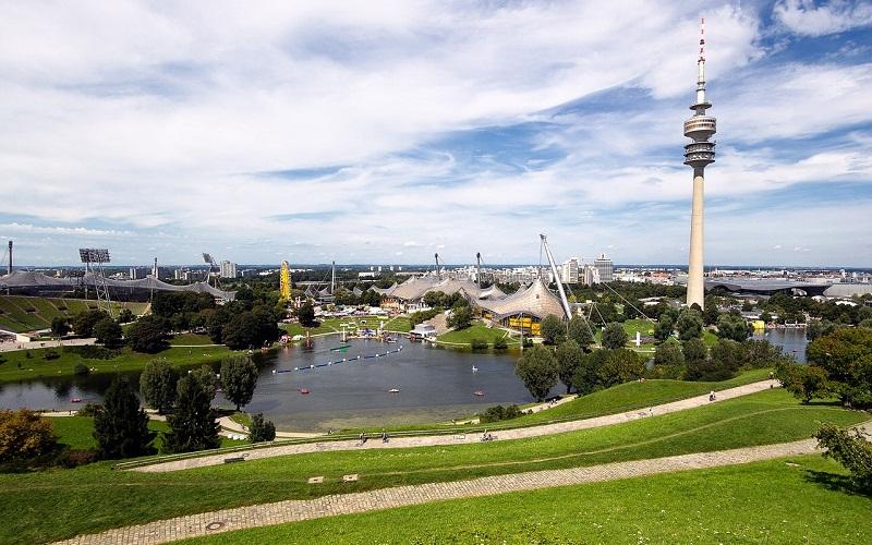 Фото: Олимпийский парк - Достопримечательности Мюнхена: ТОП-10
