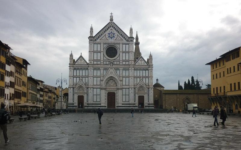 Фото: Базилика Санта-Кроче - Достопримечательности Флоренции: ТОП-10