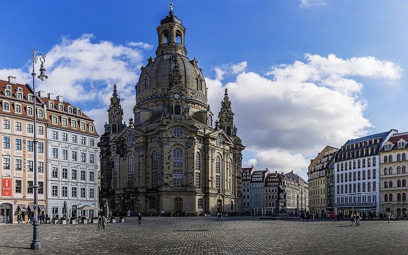 Фото: Церковь Фрауэнкирхе - Достопримечательности Дрездена: ТОП-10