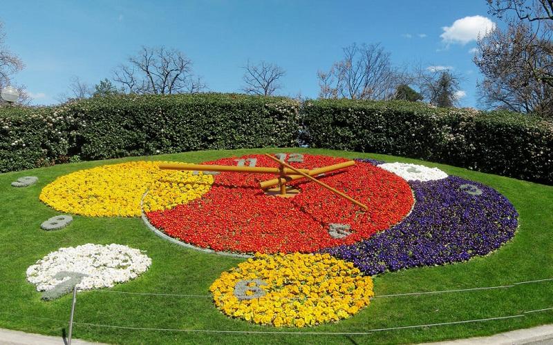 Фото: Английский сад - Достопримечательности Женевы: ТОП-10