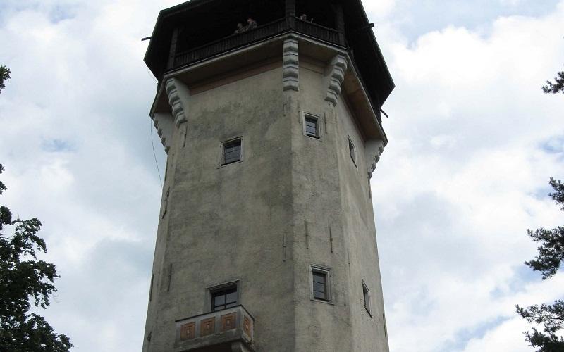 Фото: Обзорная башня Диана - Достопримечательности Карловых Вар: ТОП-10