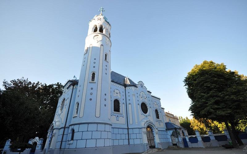 Фото: Церковь Святой Елизаветы - Достопримечательности Братиславы: ТОП-10