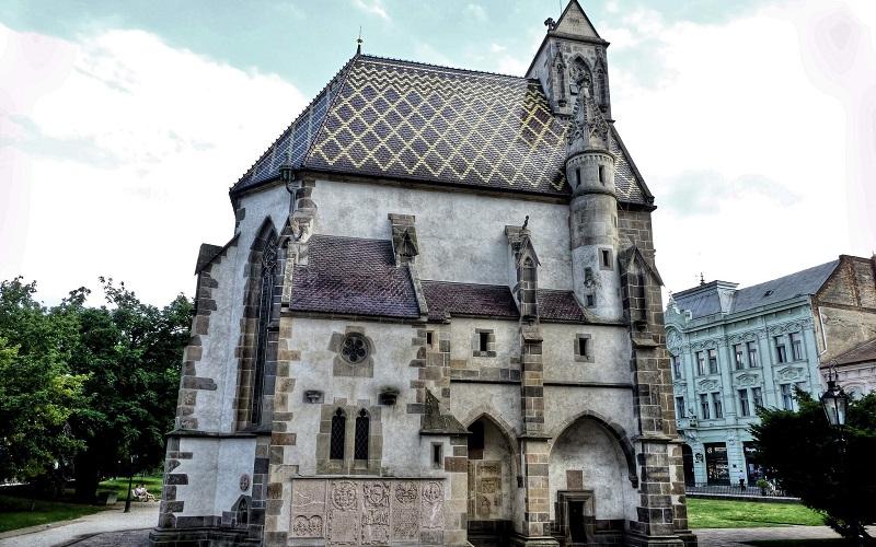 Фото: Церковь Святого Михаила Архангела - Достопримечательности Кошице: ТОП-10